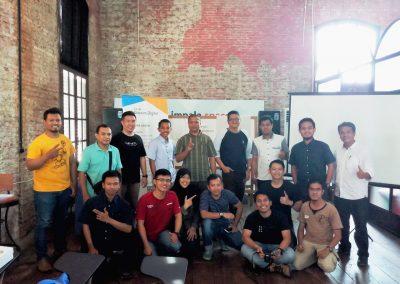 hari kedua training for trainer gapura digital semarang